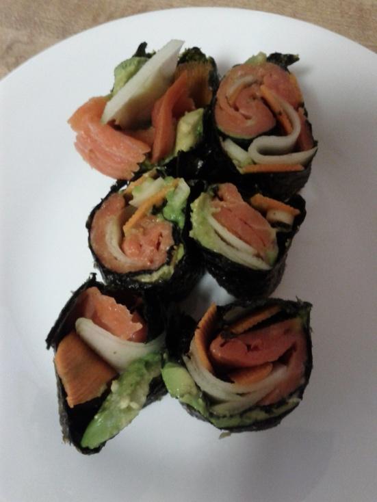 Salmon Nori