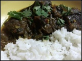 Afghan/Indian Fusion Beef Stew