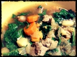 Sunday Soup: Turkey Sausage, Potato, & Spinach