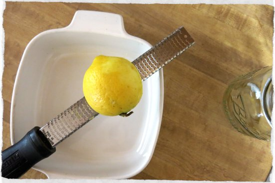 Lemon Zesting