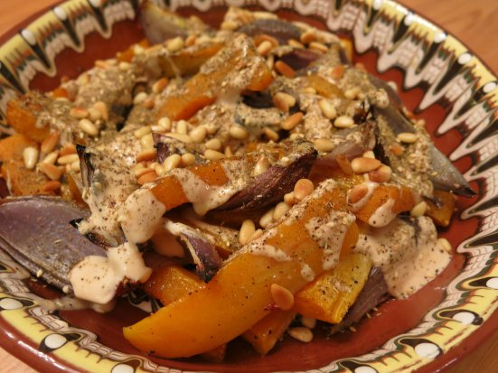 Butternut Squash & Red Onions