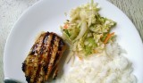 Limey Cilantro Grilled Pork Chops