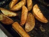 The secret to crispy ovenfries…